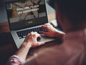 360-degree online assessment for regional construction company